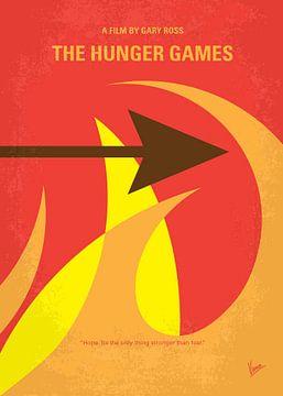 No175-1 My The Hunger Games minimal movie poster van Chungkong Art