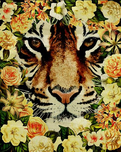 Flower Power Tiger
