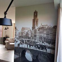 Photo de nos clients: Oude Gracht en Bakkerbrug, Utrecht sur Vintage Afbeeldingen, sur medium_16