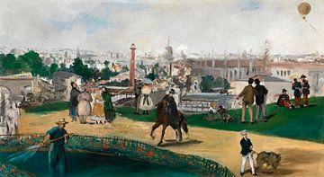 Von der Weltausstellung 1867 in Paris, Édouard Manet