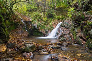 twee watervallen van de ninglinspo von Francois Debets