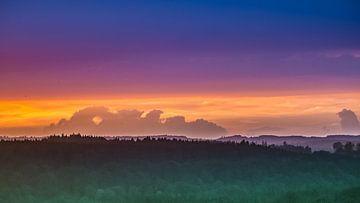 Sonnenuntergang Oberbayern sur Holger Debek