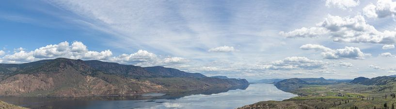 Panoramablick über die kanadische Landschaft von DuFrank Images