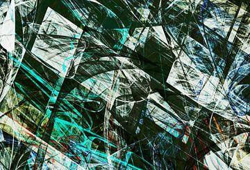 Composition abstraite 418 van Angel Estevez