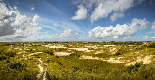 Panorama Duinen van Katwijk