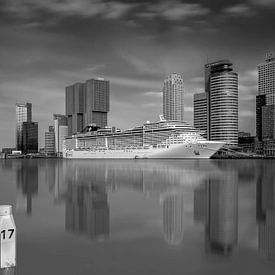Zicht op Rotterdam sur Dennisart Fotografie