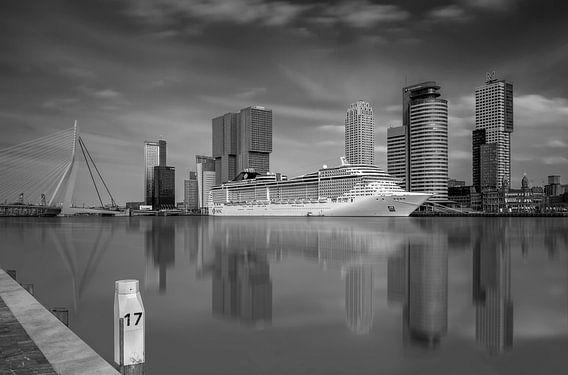 Zicht op Rotterdam van Dennisart Fotografie