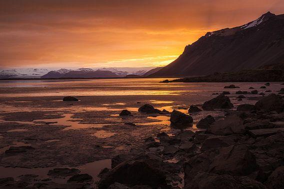 Gouden uur in IJsland van Chris Snoek