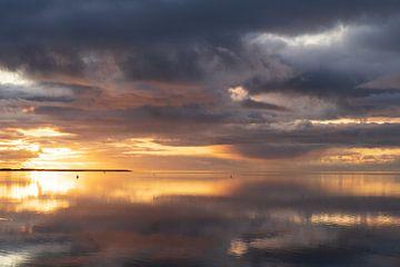 Winterluft Wattenmeer von Sybe Postma