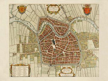 Karte Haarlem - 1646