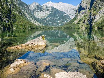 Obersee im Berchtesgadener Land mit Watzmann von Animaflora PicsStock