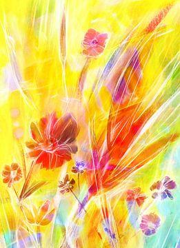 Blumenzauber von Claudia Gründler