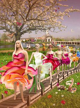 Lente in Leiden von Barbara van Druten