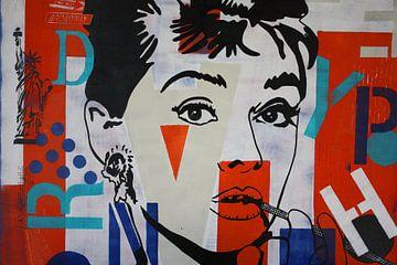 Audrey Hepburn NYC van Kathleen Artist Fine Art