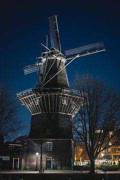 Amsterdam Windmolen (Gooyer) van Charles Poorter