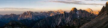 Panorama in de prachtige Dolomieten van Roy Poots