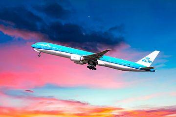 KLM PH-BVO, Boeing 777-306(ER), Tijucana National Park van Gert Hilbink