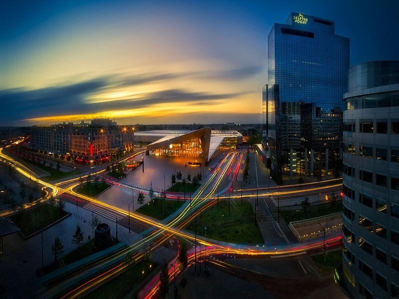Levende lijnen op Rotterdam centraal