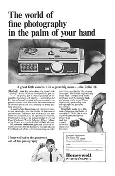 La publicité Honeywell des années 60 sur Jaap Ros