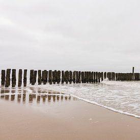 La plage de Zoutelande sur Charlene van Koesveld