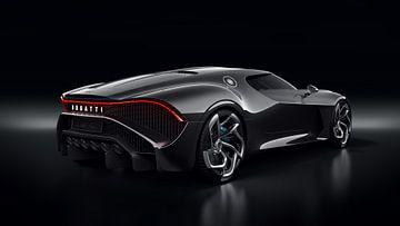 Bugatti La Voiture Noire supercar (2019) van Atelier Liesjes