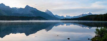 Maligne Lake, Jasper, Alberta, Kanada von Alexander Ludwig