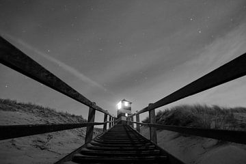 Leuchttürme der Kapdünen - Seeland von Maurice Weststrate