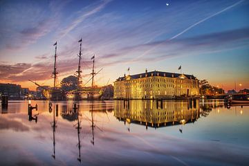 Amsterdam sunrise von Omri Raviv