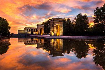 Tempel van Debod - Madrid - 5 van Nuance Beeld