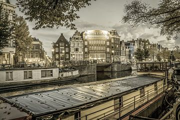Amsterdam by Night von Dirk van Egmond