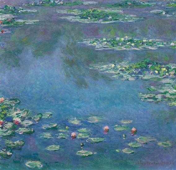 Waterlelies, Claude Monet