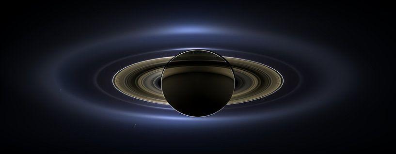 Impressie van Saturnus van Digital Universe
