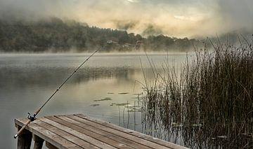 Boracko-Jezero (Bosnie) in de mist. von Alida Stuut