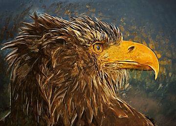 Adler Vogel Kunst #Adler von JBJart Justyna Jaszke