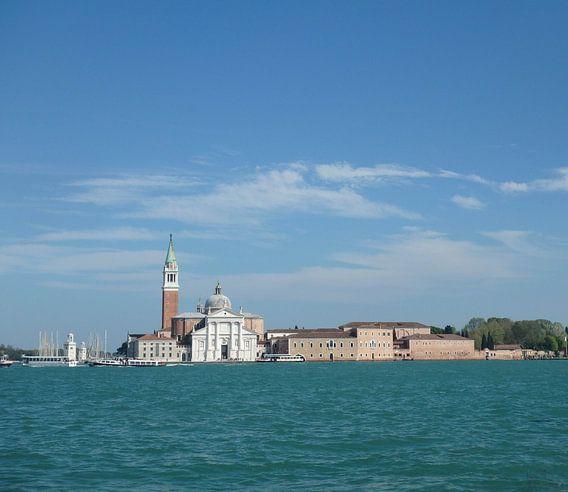 Uitzicht op Lido di Venezia van Robin van Tilborg