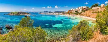 Puerto Portals Nous strand, eiland Mallorca, Spanje van Alex Winter