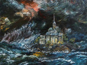 Le Mont Saint-Michel sur Freddy Hoevers