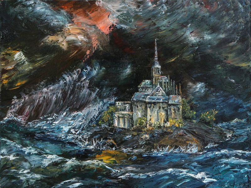 Le Mont Saint-Michel von Freddy Hoevers