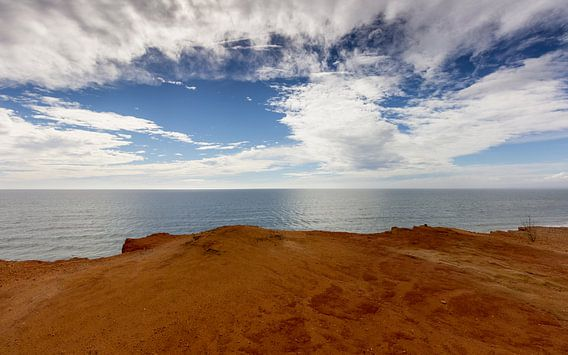Het einde van Europa, Algarve Portugal van Chris van Kan
