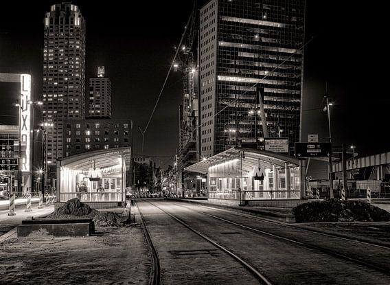 Wilhelminaplein bij nacht