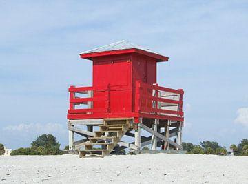 strandhuis  lifeguard sur Piet Groenewoud
