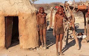 Himba dorp  van