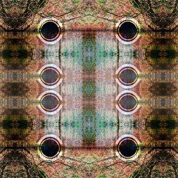 Spiegelende buizen van CreaBrig Fotografie