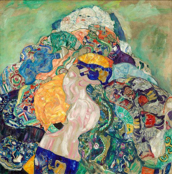 Gustav Klimt. Kind  in wiegje van 1000 Schilderijen