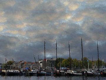 Amsterdam Oosterdok van Odette Kleeblatt