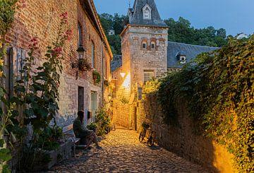 Het pittoreske stadje Durbuy in de Ardennen van Nicola Mathu