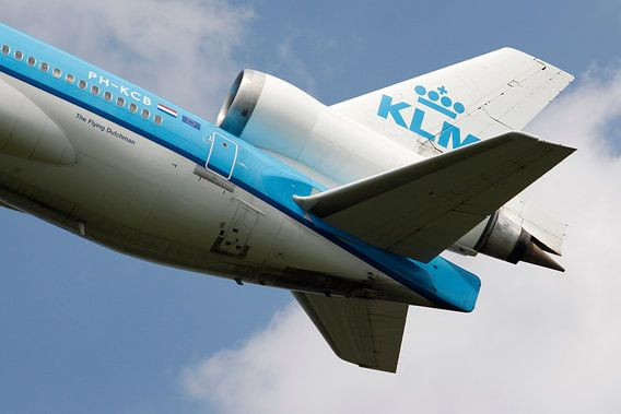 KLM MD-11 Tail