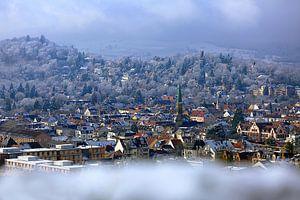 Une touche d'hiver à Fribourg sur Patrick Lohmüller
