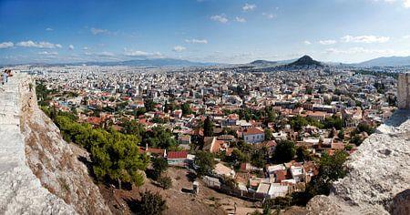 Panorama van Athene
