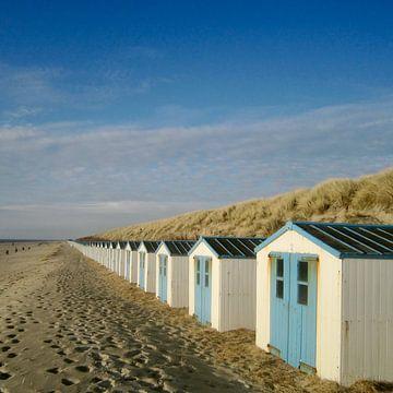 strandhuisjes van Jolanda Post